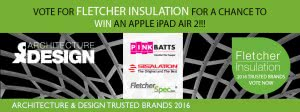 Vote for Fletcher insulation for a chance to win an apple ipad air - 2016