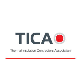 "TICA - thermal insulation contractors association"" logo"