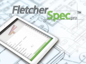 Fletecher spec pro image with an ipad