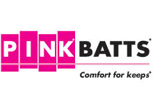 Pink Batts logo by Fletcher Insulation