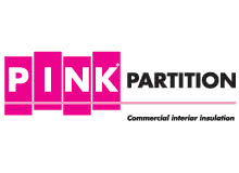 Pink Partition logo by Fletcher Insulation