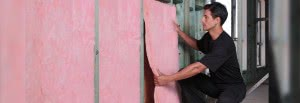 Pink batts - wall installation