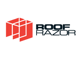 Roof Razor - logo - on a transparent background