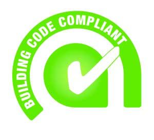 building code compliant tick logo