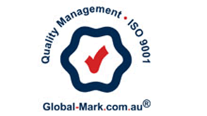 Quality Management - ISO - 9001 - Global-Mark.com.au - logo