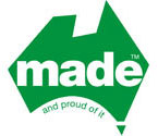 "Mate (TM) ""and proud of it"" logo"