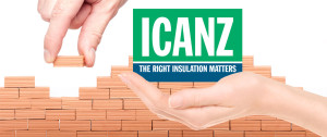 "ICANZ - :the right insulation matters"" graphic"