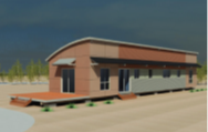 small warehouse exterior image