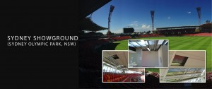Sydney Showground (at sydney olympic park) showing roofing examples - casestudy