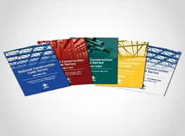 5 product booklets - national construction code