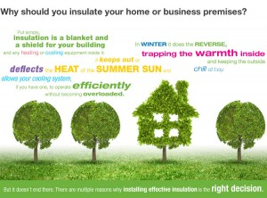why should you insulate - green image