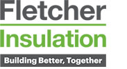 Fletcher Insulation - Building Better, Together Encased logo