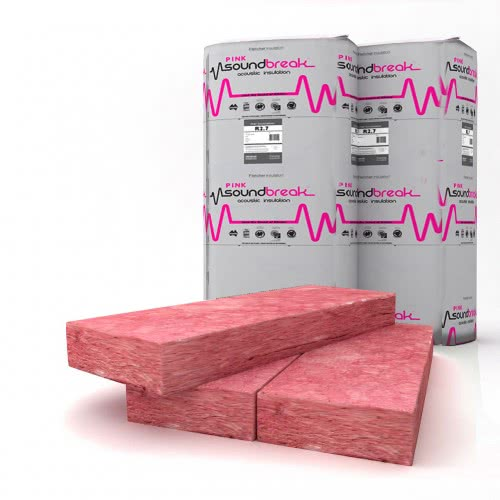 Acoustic Insulation - Pink Soundbreak