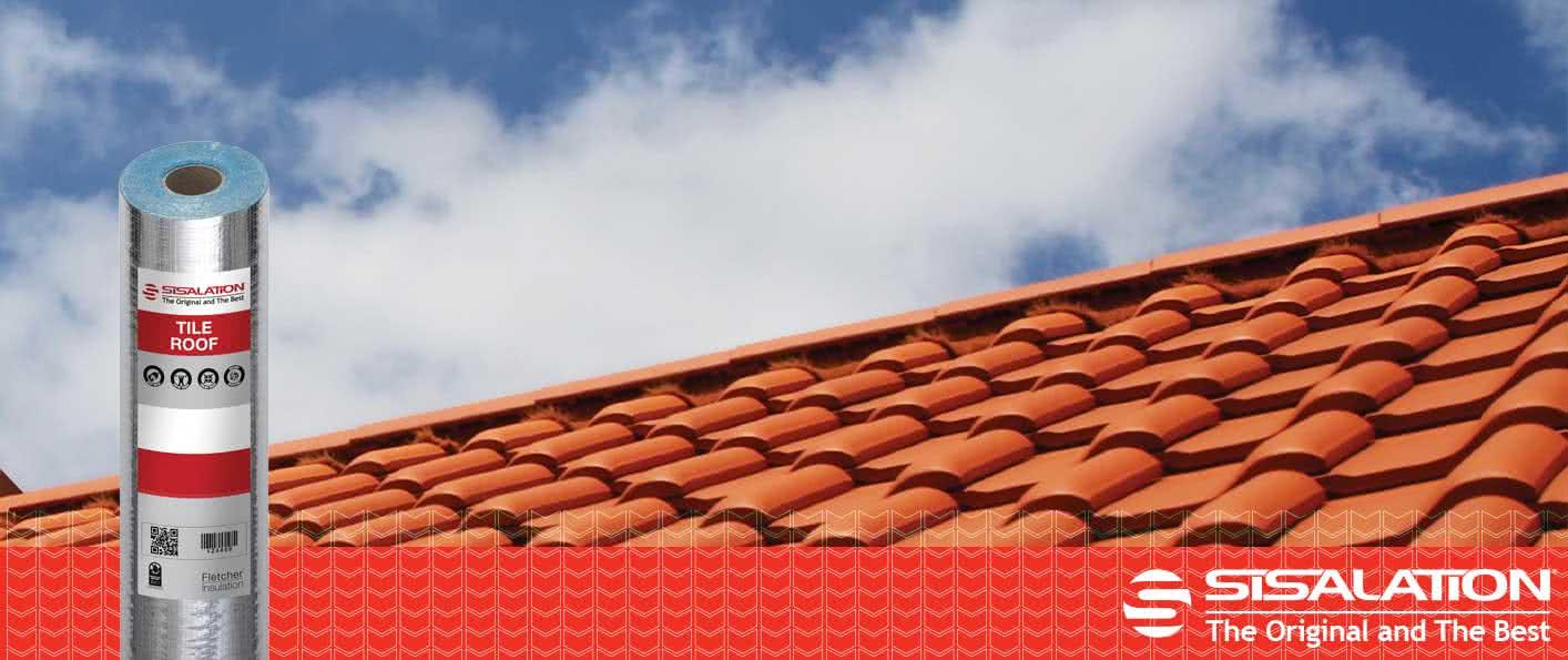 Sisalation Tile Roof Product